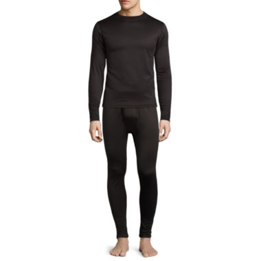 jcpenney.com | St. John's Bay® Grid Fleece Thermal Shirt or Pants