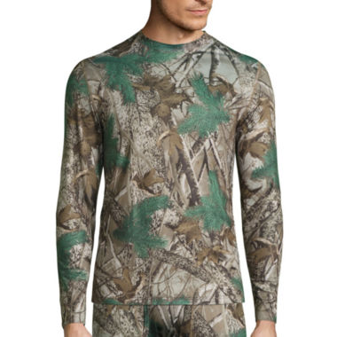 jcpenney.com | St. John's Bay® Poly Stretch Camo Thermal Shirt