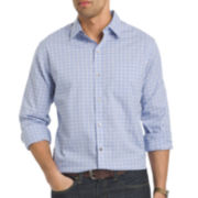 Van Heusen® Long-Sleeve Non-Iron Traveler Stretch Button-Front Shirt