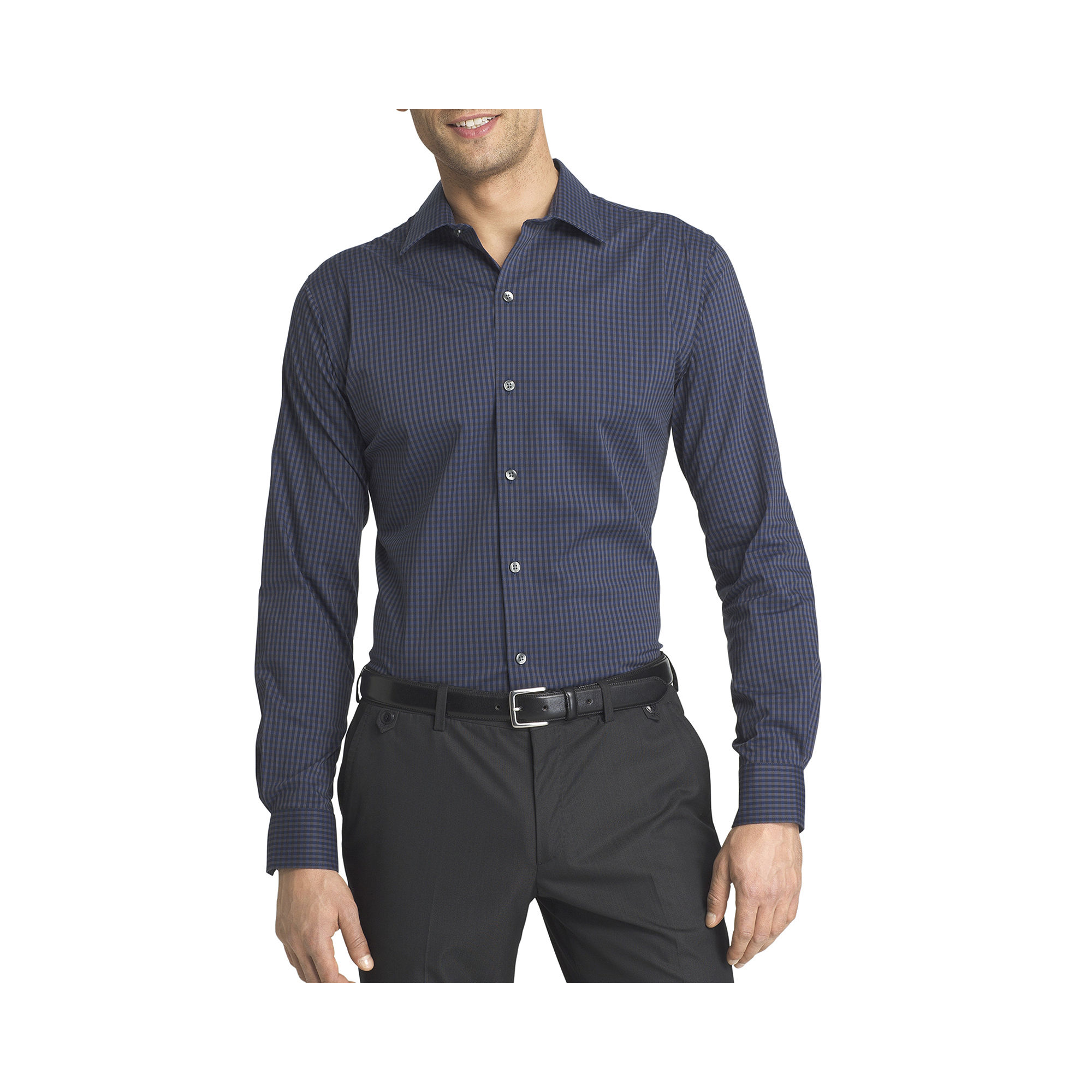 Upc 767672038884 Van Heusen Long Sleeve Slim Fit Dress Shirt