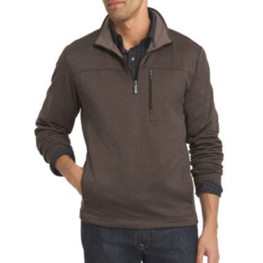 jcpenney.com | Van Heusen® Long-Sleeve Traveler Spectator Quarter-Zip Shirt