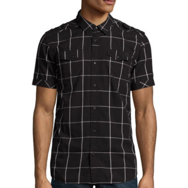 jcpenney.com | i jeans by Buffalo Mate Short-Sleeve Woven Shirt