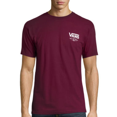 jcpenney.com | Vans® Short-Sleeve Classic Slate Cotton Tee