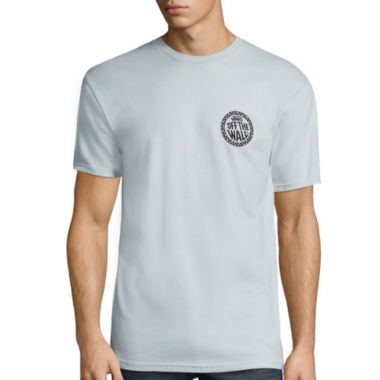 jcpenney.com | Vans® Short-Sleeve Check Wheel Cotton Tee