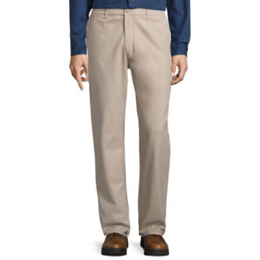 jcpenney.com | Smith's Workwear Flannel-Lined Twill Chinos