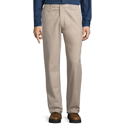 Smith's Workwear Flannel-Lined Twill Chinos