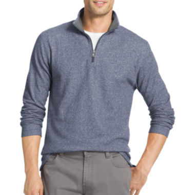 jcpenney.com | Izod® Long-Sleeve Saltwater Heather Quarter Zip