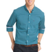 Izod® Long-Sleeve Advantage Non Iron Plaid Shirt