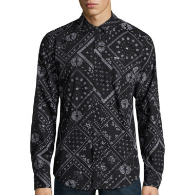 jcpenney.com | Zoo York® Patchwork Allover Long-Sleeve Woven Shirt