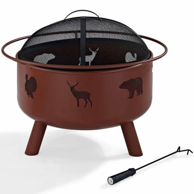 jcpenney.com | Durango Wildlife Fire Pit in Clay