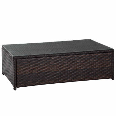 jcpenney.com | Palm Harbor Wicker Patio Coffee Table