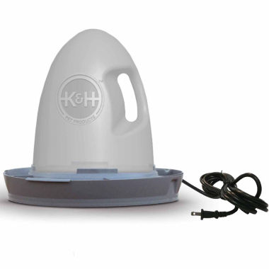 jcpenney.com | K & H Manufacturing Thermo-Poultry Waterer 2.5 Gallon Heated 60 Watts Gray