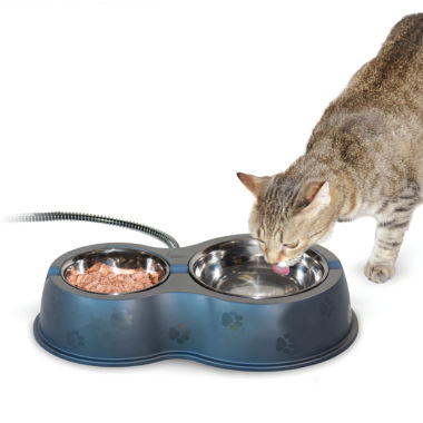 "jcpenney.com | K & H Manufacturing Thermo-Kitty Café Bowl 14"" x 8.5"" x 3"" - 30 Watts"