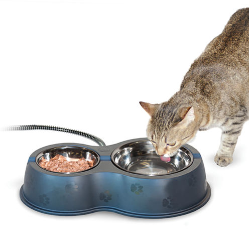 "K & H Manufacturing Thermo-Kitty Café Bowl 14"" x 8.5"" x 3"" - 30 Watts"