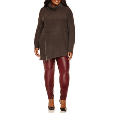 jcpenney.com | a.n.a® Half Cardigan or Allover Pleather Leggings