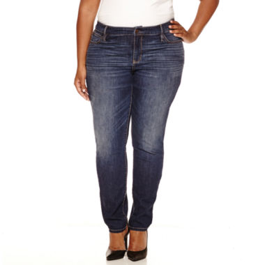 jcpenney.com | a.n.a Skinny Jeans-Plus