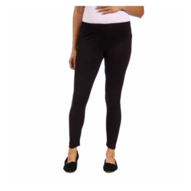 jcpenney.com | 24/7 Comfort Apparel Solid Knit Leggings Maternity