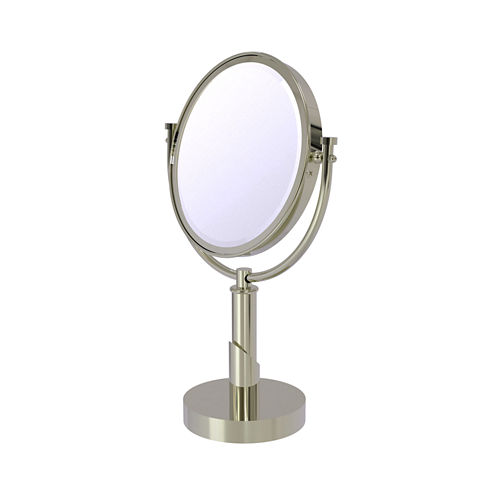 Allied Brass Tribecca Collection 8 Inch Vanity TopMake-Up Mirror 2X Magnification