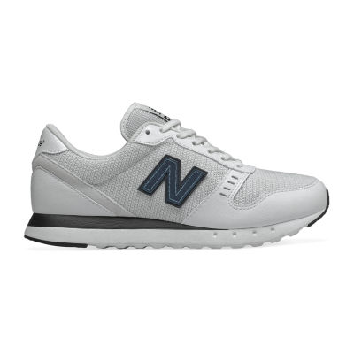New Balance 311 Womens Sneakers, Color: White Black - JCPenney