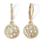 Monet® Crystal Drop Earrings