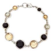 Liz Claiborne® Neutral Stone Flex Bracelet