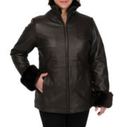 Excelled Leather Car Coat