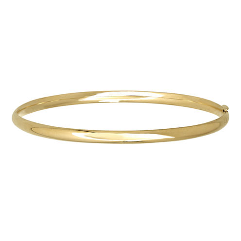 Infinite Gold™ 14K Yellow Gold Polished Hollow Bangle
