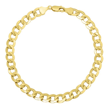 jcpenney.com | Infinite Gold™ 14K Yellow Gold Hollow Curb Chain Bracelet