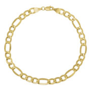Infinite Gold™ 14K Yellow Gold Figaro Chain Bracelet