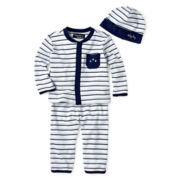 Wendy Bellissimo™ 3-pc. Hat, Knit Top and Pants Set – Boys newborn-9m