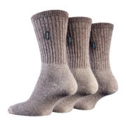 Jeep® 3-pk. Urban Trail Boot Socks