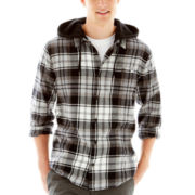 DC® Nature Flannel Hoodie Shirt