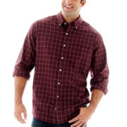 Van Heusen® Long-Sleeve No-Iron Woven Shirt–Big & Tall