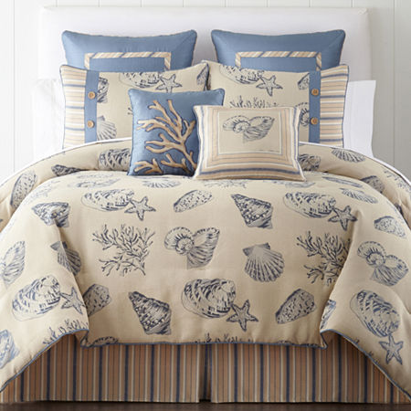 Calypso Coastal 4-pc. Comforter Set