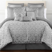 Home Expressions™ Erin Scroll 7-pc. Comforter Set & Accessories