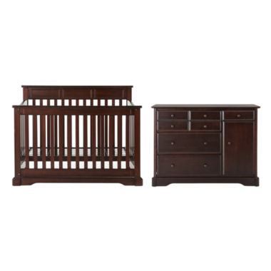 jcpenney.com | Rockland Hartford 2-pc. Baby Furniture Set - Coffee