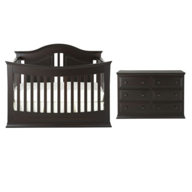 jcpenney.com | Rockland Austin 2-pc. Baby Furniture Set - Espresso