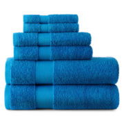 JCPenney Home™ 6-pc. Bath Towel Set