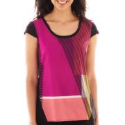 Worthington® Flutter Sleeve Blouse