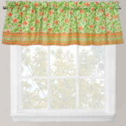 Park B. Smith Boutique Rod-Pocket Flowers Valance
