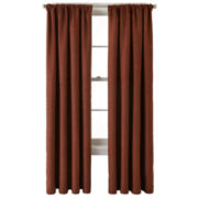 JCPenney Home™ Monroe Rod-Pocket/Back-Tab Curtain Panel