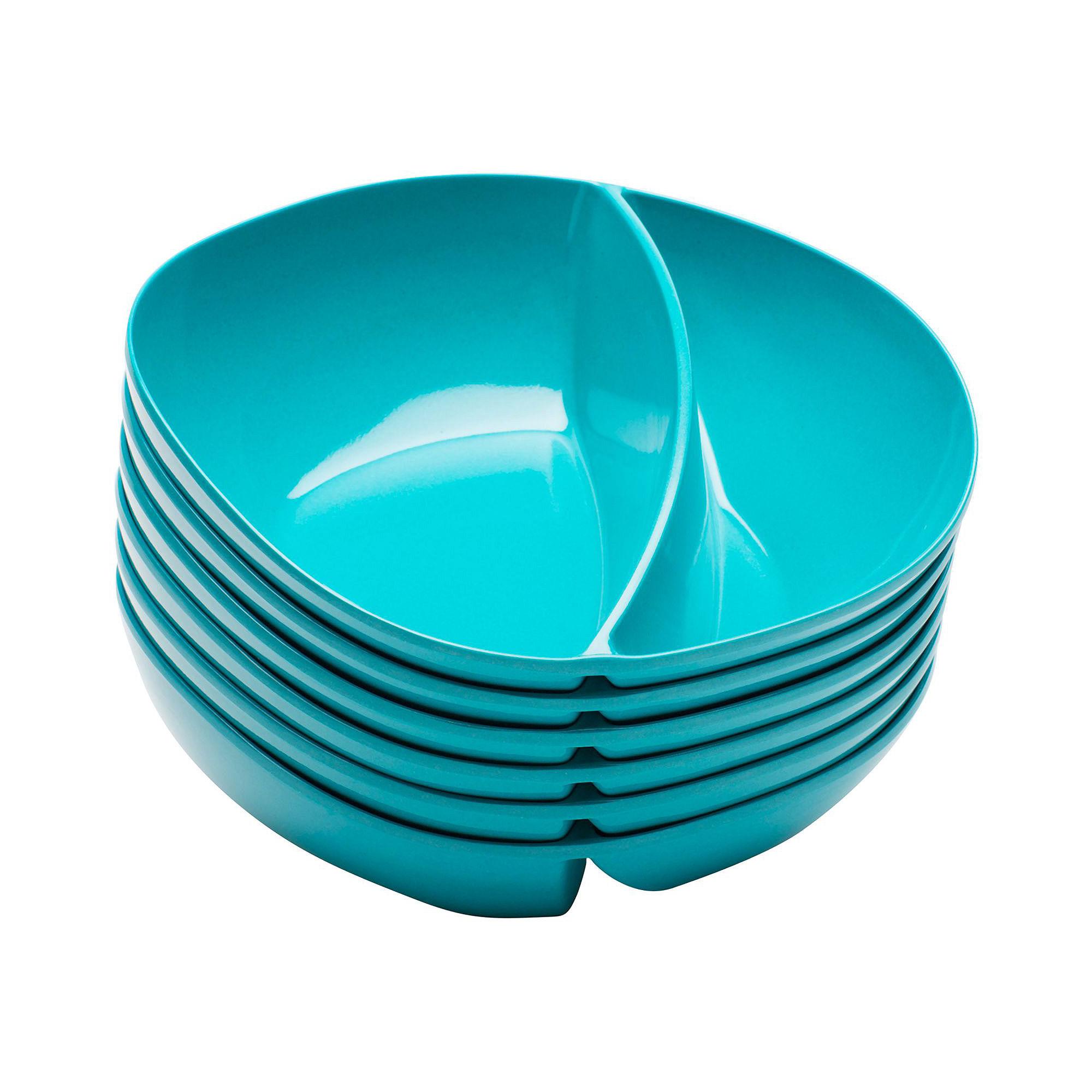 Zak Designs Moso Set of 6 Divided Bowls