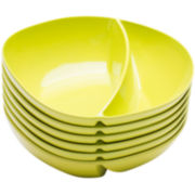 Zak Designs® Moso Set of 6 Divided Bowls