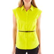 Worthington® Essential Sleeveless Shirt