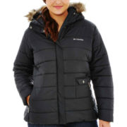 Columbia® 3 Graces Water-Resistant Quilted Jacket - Plus