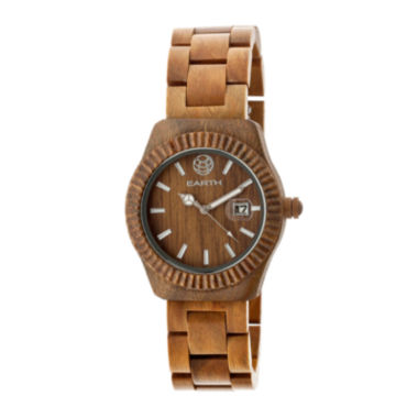 jcpenney.com | Earth Wood Pith Olive Bracelet Watch With Date Ethew1804