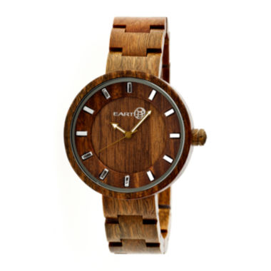 jcpenney.com | Earth Wood Root Olive Bracelet Watch ETHEW2504