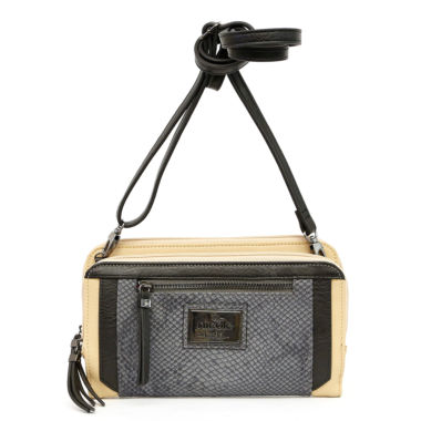 jcpenney.com | Nicole By Nicole Miller Poppy Double Crossbody Bag
