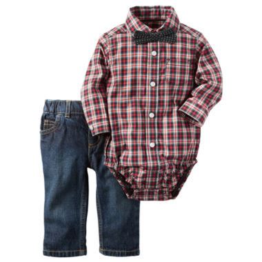 jcpenney.com | Carter's Boys 3-pc. Long Sleeve Pant Set-Baby