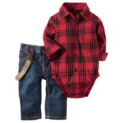 Carter's Boys Long Sleeve Pant Set